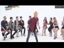 140917 Weekly Idol NUEST Ren dances to Girlsday Something