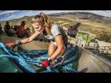 Mountain Running Up a Steep Ski Jump  The Red Bull 400