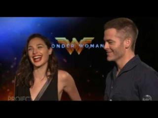 Wonder Woman's Gal Gadot and Chris Pine discuss 'nude scene'