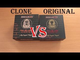 DIGIFLAVOR PHARAOH CLONE VS ORIGINAL   А клон хорош!