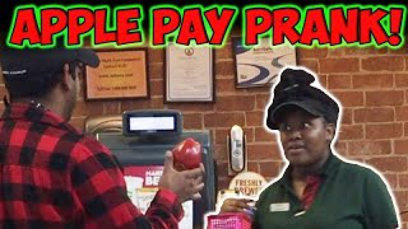APPLE PAY PRANK!!