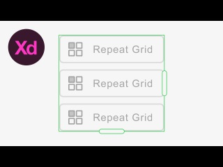 Learn How to Use the Repeat Grid Tool in Adobe Experience Design (Adobe XD) | Dansky