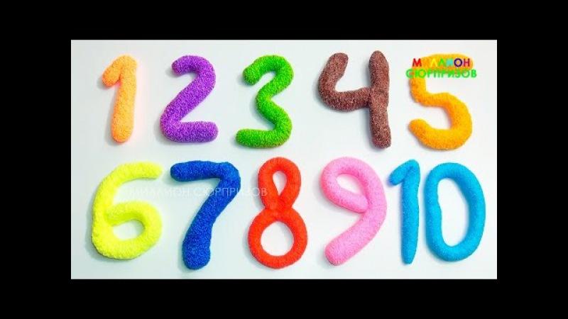 Учим цифры с Пластилином Плей До   Учимся считать от 1 до 20   Детский канал   Пласти...