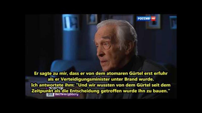 Geheimer Atom Gürtel mitten in Deutschland USA wollten Millionen Deutsche umbringen