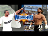 WWE 2K17 Wrestlemania 33 Simulation AJ Styles vs Shane McMahon Full Match