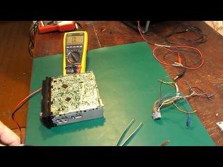 Ремонт автомагнитолы Panasonic CQ-C1330NE. Не включается. Часть 1.0