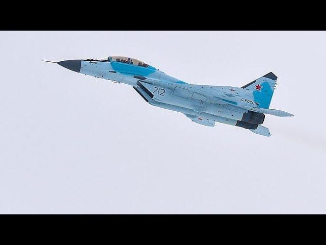 Испытания новейшего истребителя МиГ-35: эксклюзивные кадры