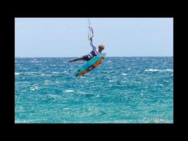 Tarifa Strapless Kitesurfing pro 2017