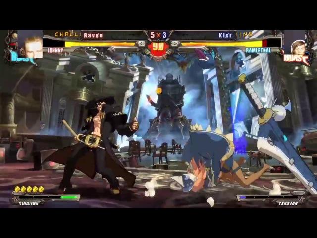 GG Xrd Rev2 FT5 Kler(Ra) vs. Raven(Jo)