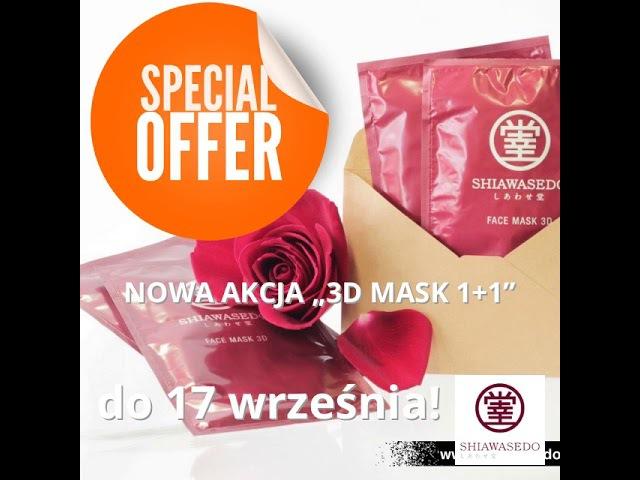 """Nowa akcja """"3D mask 11""""wShiawasedo Polska."""