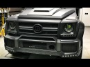 BRABUS G 63 с сиденьями от S-Class! Проект Гелик 850 сил и сейф Audi RS3 и 220i. Казань - часть I