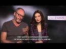 Game of Thrones IV press junket London 2014 Liam Cunningham Carice van Houten