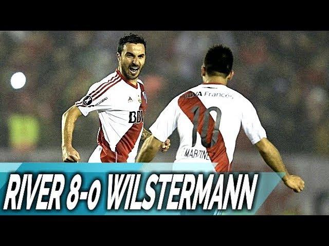 River Plate 8-0 Wilstermann Todos Los Goles Copa Libertadores 2017