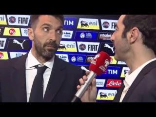 Buffon: La mia ultima partita? Magari do una capocciata come fece Zidane...