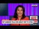 голосовой перевод Вернувшаяся из Сирии Тулси Габбард загоняет в угол журналиста CNN