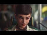 Ожившая и прекрасная Одри Хепберн в рекламе шоколада