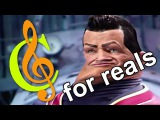 We Are Number One but all notes are actually C for reals this time