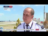 Акопов дал эксклюзивное интервью о посадке самолёта и аватарке с Лавровым