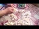 Соленое тесто лист винограда