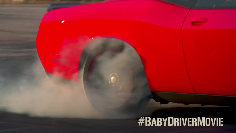 BABY DRIVER – Revved Up (In Theaters 6⁄28)