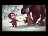 Маша и Медведь - Песенка про краски (27 серия, исполняет Алина Кукушкина)