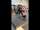 2 подход становой тяги.240 кг.