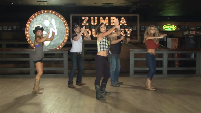 Zumba Country - 05 Something That I Like About A Honky Tonk - Country - Cues On