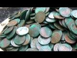 РЕАЛЬНО! НАСТОЯЩИЙ КЛАД 712 монет. В поисках Золота и Старины