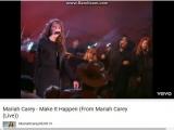 Fantastic voice young Mariah Carey