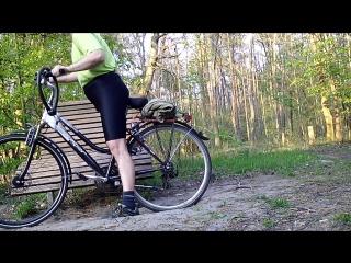 My Bike fuck my Lycra Ass Outdoor