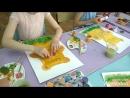 Рисуем губкой плюшевого мишку! Осваиваем нетрадиционные техники рисования.