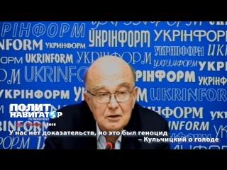 У нас нет доказательств, но это был геноцид – Кульчицкий о голоде