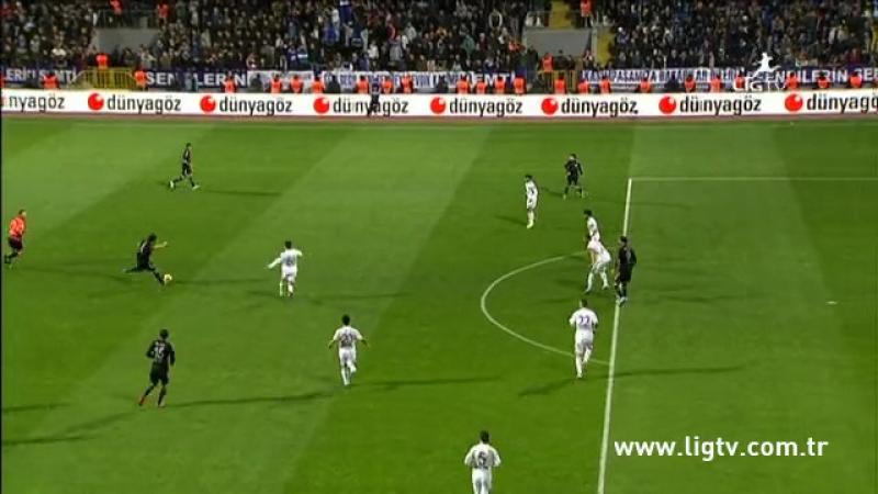 2013 - 2014 Sezonu - Kasımpaşa-Beşiktaş dakika 26 gol Hugo Almeida