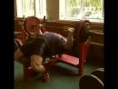 Дмитрий Головинский, жим лёжа 160 кг на 19 раз