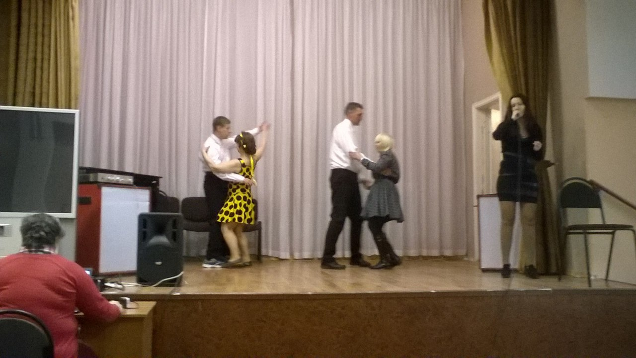 группа «InclusiveDance»- «Театр пародий» ездил на выступление в санаторий Пушкино