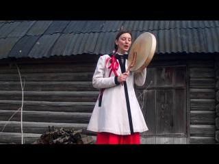 Деревня Засосье. Праздник Красная Горка. Маша Полянская и песня