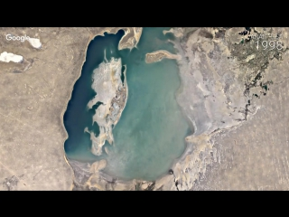 Google Timelapse - Aral Sea
