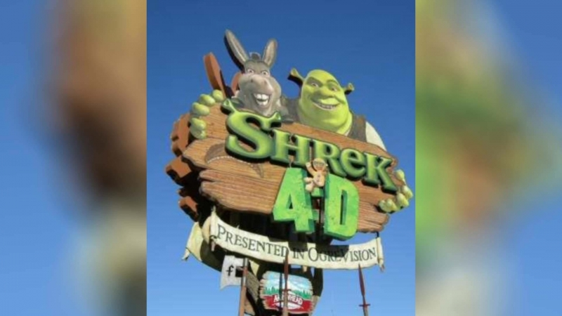 Шрэк 4-D (2003) | Shrek 4-D