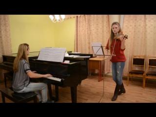 Maxim mrvica - croatian rhapsody ¦ violin piano (скрипка пианино)