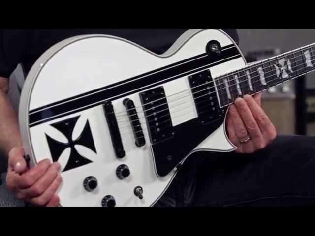 Product Spotlight - ESP Ltd James Hetfield Signature Iron Cross Electric Guitar