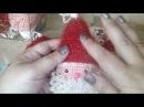 МК.Вязаный Дедушка Мороз .Новогодняя игрушка крючком ,своими руками