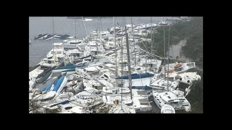 IRMAGEDDON! Hurricane Irma Aftermath/ Almost 90% Of Barbuda Destroyed