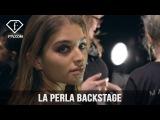 New York Fashion Week 2017-18 - La Perla Backstage  FTV.com