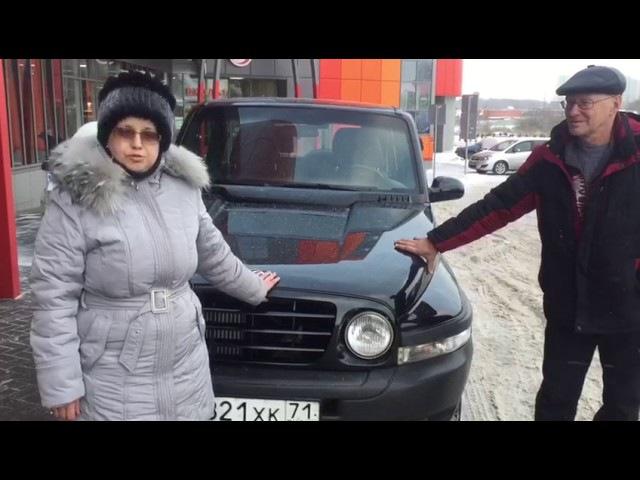 Видео-отзыв8 Автосалон Альтера альтераотзывы Отзыв Михаила и Ирины, г. Казань, купили Tagaz Tager в автосалоне Altera