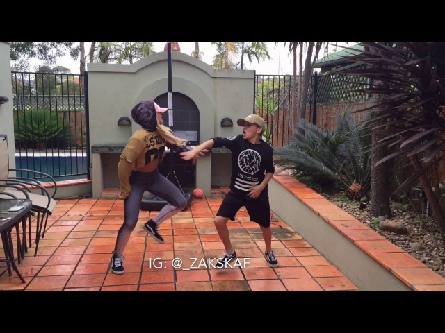 TZ anthem Challenge (Viral Video) - Brother and Sister JUJU ON THAT BEAT