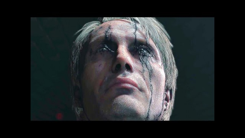 DEATH STRANDING Trailer 4K - Mads Mikkelsen/Guillermo del Toro (The Game Awards 2016)