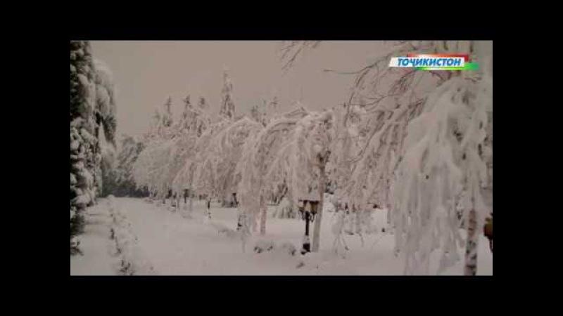 Зебоиҳои зимистони Тоҷикистон…