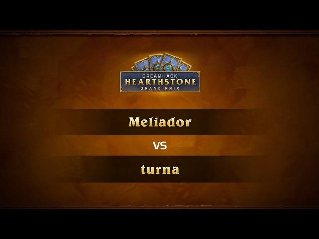 Meliador vs Turna, 1/4, DreamHack Valencia 2017