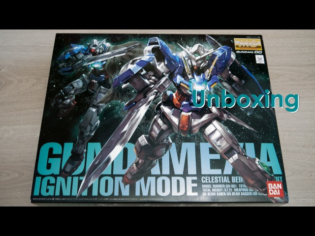 Unboxing - MG 1/100 Exia Ignition Mode Gundam [by Bandai]
