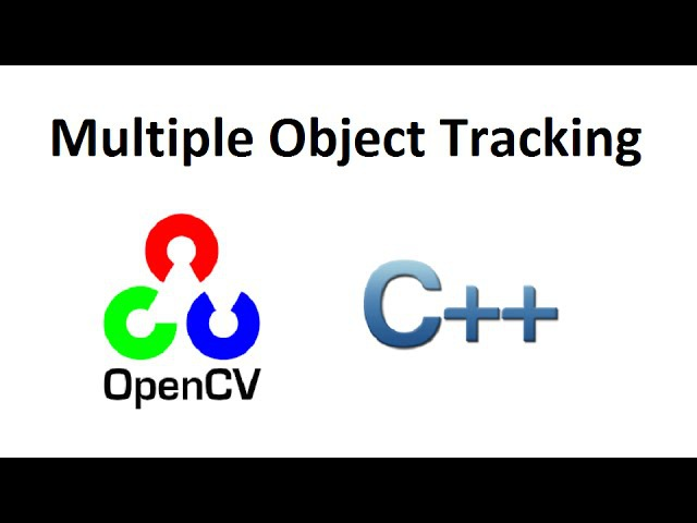 OpenCV 3 Multiple Object Tracking by Image Subtraction C full source code